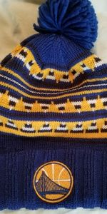 Golden State Warriors knit winter hat